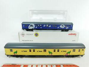 BC674-1-Marklin-H0-AC-41574-Tren-de-correos-coche-juego-Carretilla-de-la-barra