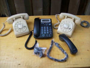 Vintage Rotary Dial Phones and New VoIP