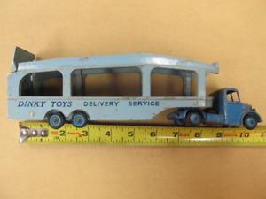 Vintage Dinky Toy Truck Bedford  Pullmore Car Transport