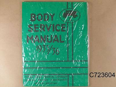 1933 1936 Pontiac Body Service Manual All GM w Fisher Bodies 123 Pages C723604