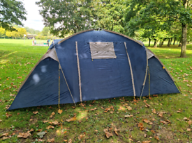 Halfords 4 man stand up tent
