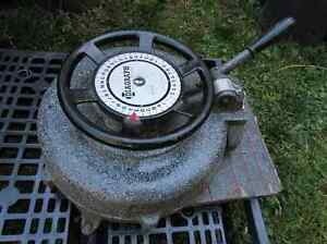 Vintage Diagraph from old Factory Plant Stencil Machine