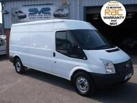 2012 62 FORD TRANSIT LWB VERY RARE SWITCHABLE AWD ALL WHEEL DRIVE 350 125BHP 4X