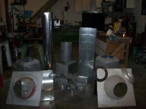 Surplus ductwork components