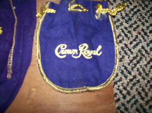3 Old Crown Royal Bags Windsor Region Ontario image 4