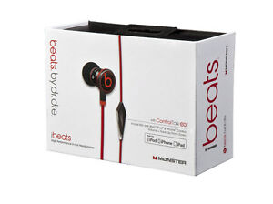 Dr Dre iBeats Headphones with ControlTalk from Monster