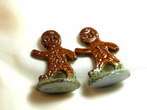 Antique red rose tea Gingerbread man