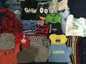Baby boy clothes sizes 9-12 months