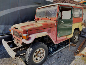 BJ42 1981 Land Cruiser project vehicle for sale $5500