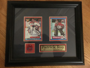 MONTREAL CANADIENS COLLECTIONROY FRAMED PICTURE EXCELLENT COND