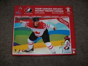 Team Canada Hockey Puzzle Sidney Crosby