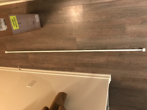 Adjustable IKEA Curtain Rod (with ends)