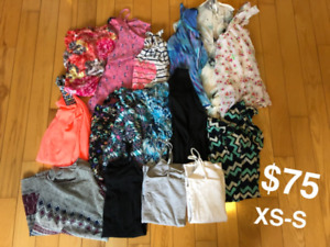 16 ladies' shirts