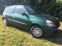 2002 RENAULT CLIO - 1.2L - CLEAN - RELIABLE - BARGAIN