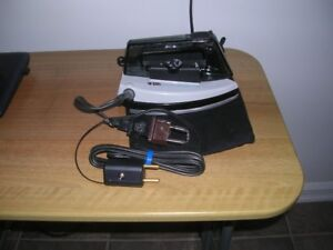 Travel Steam Iron with power adapters