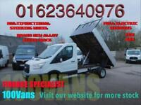 FORD TRANSIT 2.2TDCI T350 L2 H1 6 SPEED TIPPER SAME DAY FINANCE CALL ANYTIME