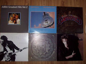 6 Old records form the 70s and 80s for sale
