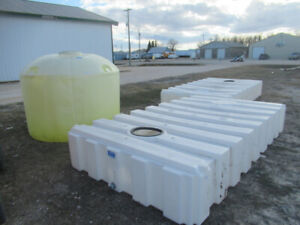 Various Sizes of Poly Tanks