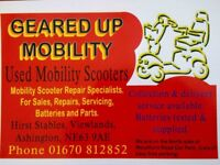 Mobility Scooter Service and Repair