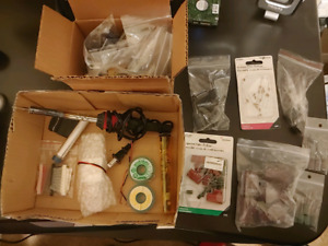 Solder and parts