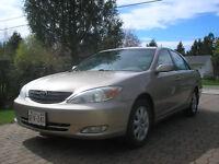 2003 Toyota Camry XLE Sedan