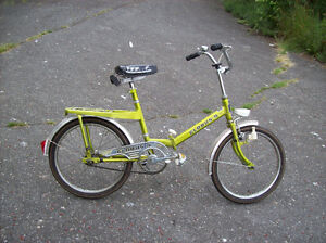 VINTAGE GERMAN FOLDING BIKE