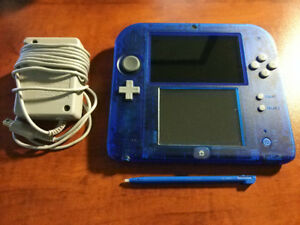 Crystal Blue Nintendo 2DS