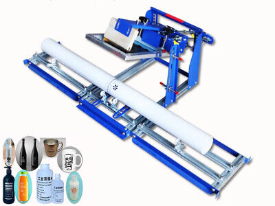 New Listing 7diameter Curved Screen Printing Machine For Tube Bottle Diy Supply