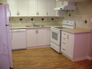5 min walk to GO Station - Totally Renovated 2 Bedroom Apt