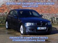 2007 07 BMW 1 SERIES 2.0 120I M SPORT 3D AUTO 168 BHP