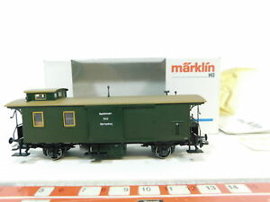 BC624-0-5-Marklin-H0-AC-4212-Vagon-portaequipajes-15441-K-W-StE-NEM-KK-w