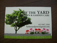 LAWN AND GARDEN CARE.