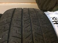 pneus Goodyear Eagle RS-A 235/55/17 tires