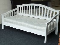White Day bed with guest trundle