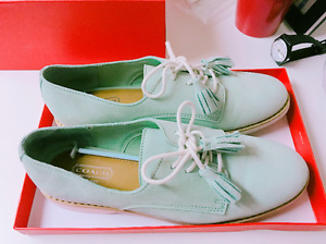 Coach Mint ladies shoes - Zinnia Soft Nubuck- $120 or best offer
