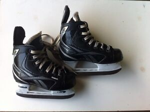 Reebok size 11 child's hockey skates