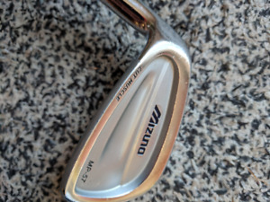 Left handed LH Mizuno MP-57 Irons Used (4-PW)