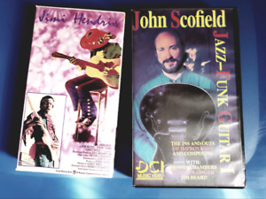Guitar related VHS