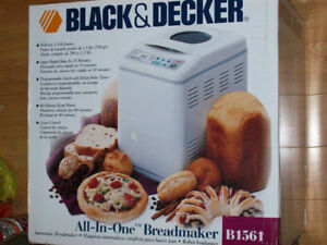 Black and Decker All-In-One Automatic Breadmaker, Still Boxed.