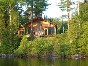 Magnifique chalet à vendre (Nominingue, Lac des Grandes Baies)