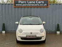 2013 Fiat 500 1.2 LOUNGE ** ONLY 34000 MILES ** 1.2 Hatchback Petrol Manual