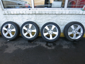 4 mazda 3 mag 17 inch. Ready for winter. No tires