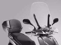 Honda sh125 windshield screen and knuckles 2013 -onwards