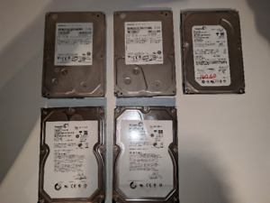 Disques Durs / HDD 1TB ou 160GB Seagate & Hitachi