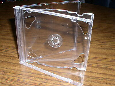 50 New Double 2 Cd Jewel Cases Wclear Tray Made In Canada Psc36canada