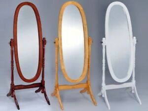 NEW STANDING MIRROR CHERRY COLOUR