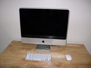 24 in. iMac, 1 TB of space , OS X Yosemite