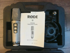 RODE 2000 Condensor Microphone