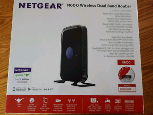 Router Netgear n600 double bande