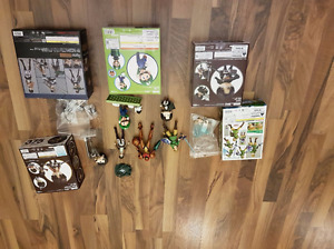 Assorted FIGMA/NENDOROID collectable figures